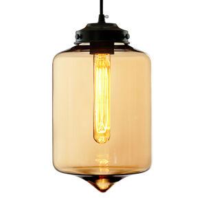 ALTAVOLA DESIGN LA011/P_amber Závěsná světla