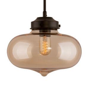 ALTAVOLA DESIGN LA005/P_amber Závěsná světla