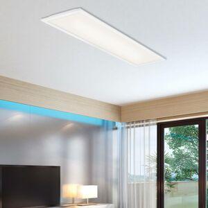 Briloner LED panel Simple, bílý, ultra plochý, 100x25cm