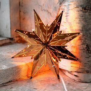 STAR TRADING Osmicípá mosazná hvězda Star Mini