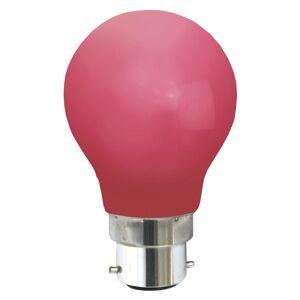 Best Season B22 0,8W LED žárovka, červená