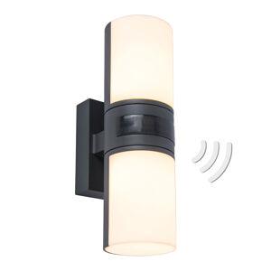 Eco-Light LED venkovní nástěnné světlo Cyra, pochybné, čidlo