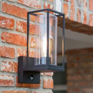 Eco-Light Nástěnné světlo Flair, stínidlo nahoře senzor