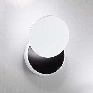 Fabas Luce LED nástěnné světlo Ara, čtecí spot, bílá-černá