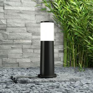 Fumagalli Amelia – černé sloupkové svítidlo, výška 40 cm