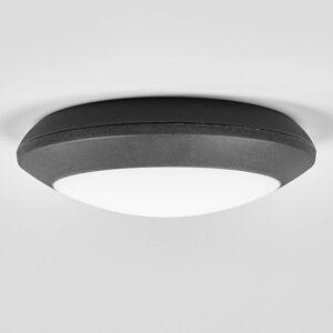 Fumagalli LED venkovní stropní světlo Berta, černé, CCT