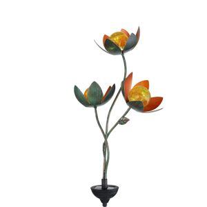 Globo Solární dekorační světlo 33654 hrot, tři květy