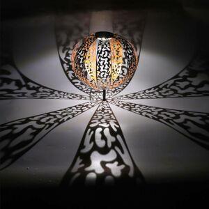 Globo Solární dekorační světlo 33647 stříbrná starožitná