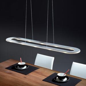 Helestra Helestra Sima – LED závěsné světlo, nerez, ovál
