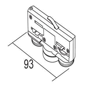 IVELA Svítidla pro 3fázový kolejnicový systém