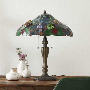 Clayre & Eef Mistrná stolní lampa Australia, Tiffany styl