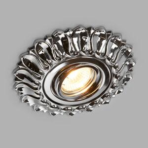 RIPERLamP Estela - lesklé chromované zapuštěné světlo