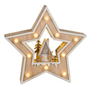 Saico LED vánoční hvězda Country Style
