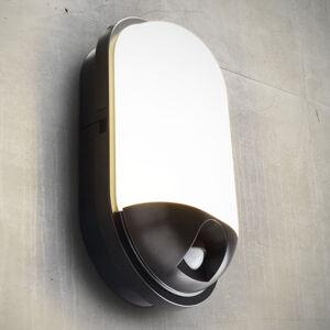 Heitronic Venkovní nástěnná svítidla s čidlem pohybu