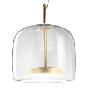 Vistosi Závěsné světlo Jube SP 1 P ze skla, čiré