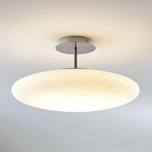 Lindby LED stropní světlo z opálového skla Gunda, bílé