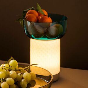 Artemide Artemide Bontà LED stolní lampa, tyrkysová miska