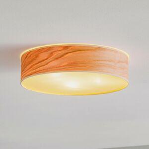 EULUNA Stropní světlo Tsuri L, Ø 40 cm, dub