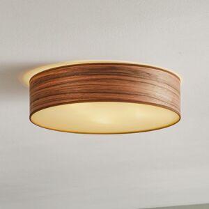 EULUNA Stropní světlo Tsuri L, Ø 40 cm, ořech