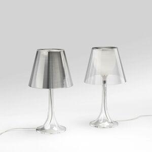 FLOS FLOS Miss K stolní lampa, stmívač, transparentní