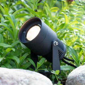 Markslöjd Garden 24 LED spotlight, černá, 3 watty