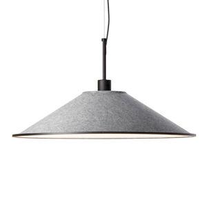 GROK Grok Shoemaker LED závěsné světlo kulaté šedé