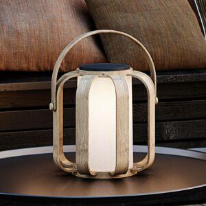 Nordlux LED solární dekorativní světlo Bob z bambusu