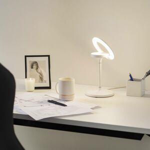 LTS LED stolní lampa Filigree, otočná/naklápěcí, bílá