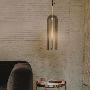 LEDS-C4 LEDS-C4 Glam závěsné světlo, kouřové, výška 38,5cm
