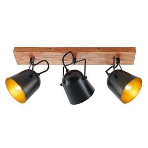 Lindby Lindby Adalin stropní světlo tři zdroje, černá