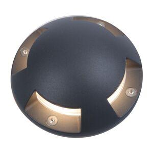 Lindby Lindby Huban LED podlahové světlo, 4žárovkové