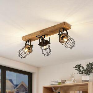 Lindby Lindby Serima nástěnné světlo tři klecová stínidla
