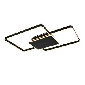Lucande Lucande Kadira LED stropní světlo 102 cm černá