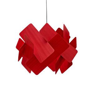 LZF LamPS LZF Escape závěsné světlo, Ø 40 cm, červená