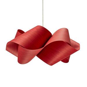 LZF LamPS LZF Swirl závěsné světlo Ø 54 cm, červená