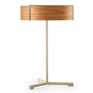 LZF LamPS LZF Thesis LED stolní lampa slonovina/třešeň