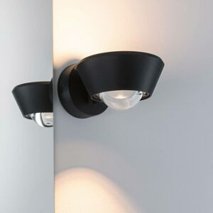 Paulmann Paulmann Sabik LED nástěnné světlo up/down, černá