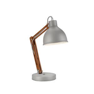 EULUNA Stolní lampa Skansen, nastavitelná, šedá