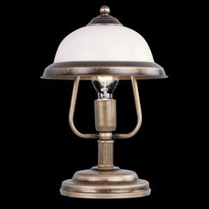 EULUNA Stolní lampa Torio v antickém designu, výška 36 cm