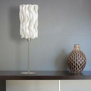 Tagwerk Stolní lampa Amöbe z biomateriálu, výška 70 cm