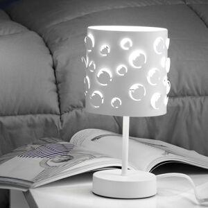 EULUNA Stolní lampa Bollicine se stínidlem Lasercut