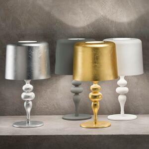 Masiero Stolní lampa Eva TL1 M, výška 53 cm tmavě šedá