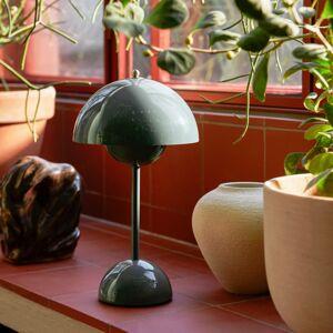 &TRADITION &Tradition Flowerpot VP9 stolní lampa šedomodrá
