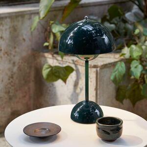 &TRADITION &Tradition Flowerpot VP9 stolní lampa tmavě zelená
