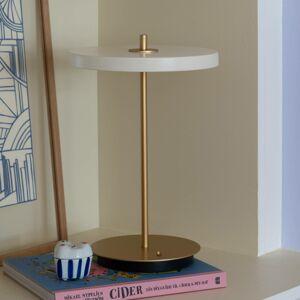 UMAGE UMAGE LED stolní lampa Asteria move perlově bílá