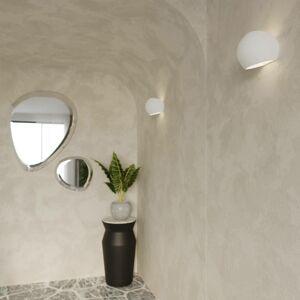 EULUNA Nástěnné světlo Bullet up/down z keramiky v bílé