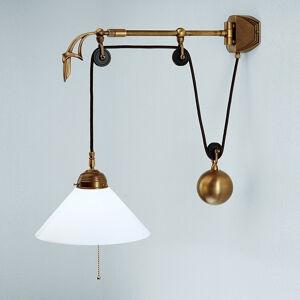 Berliner Messinglamp A89-25opB Nástěnná svítidla