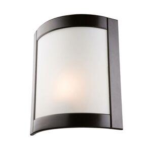 EULUNA Nástěnné světlo Zanna ze dřeva 34 cm, wenge