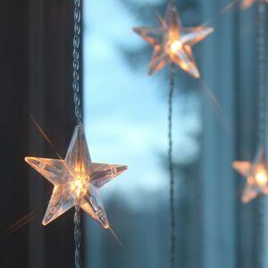 STAR TRADING Deset pramenů - LED světelná clona Star 20 žárovek